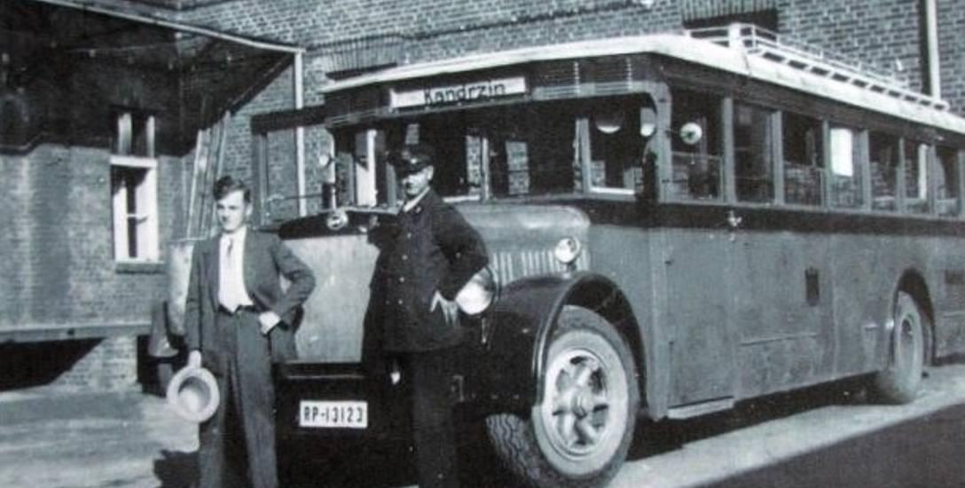 To poczta organizowała pierwszą komunikację autobusową jeszcze przed wojną.