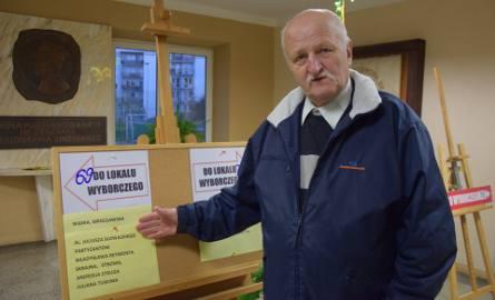 Wybory samorządowe 2018 Zielona Góra. Franciszek Rytter zawsze bierze udział w wyborach, bo jak mówi, jak człowiek nie pójdzie, to ktoś inny wybierze