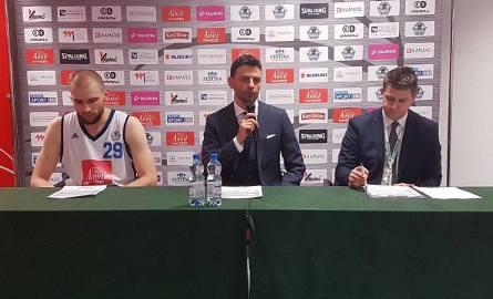 Wideo z konferencji prasowejTrener Anwilu Igor Milicić i Paweł Leończyk