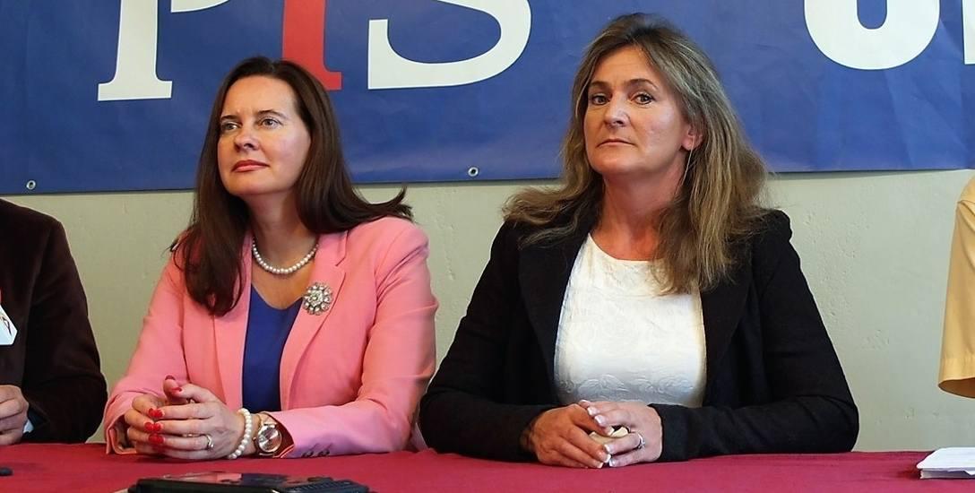 Posłanka Katarzyna Czochara (z prawej) zaproponowała Mniejszości Niemieckiej dwa miejsca w zarządzie województwa. Marcin Ociepa miał być skłonny oddać