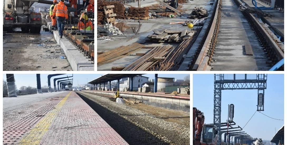 Remont estakady kolejowej oraz dwóch peronów na dworcu głównym kosztuje 95 mln zł.
