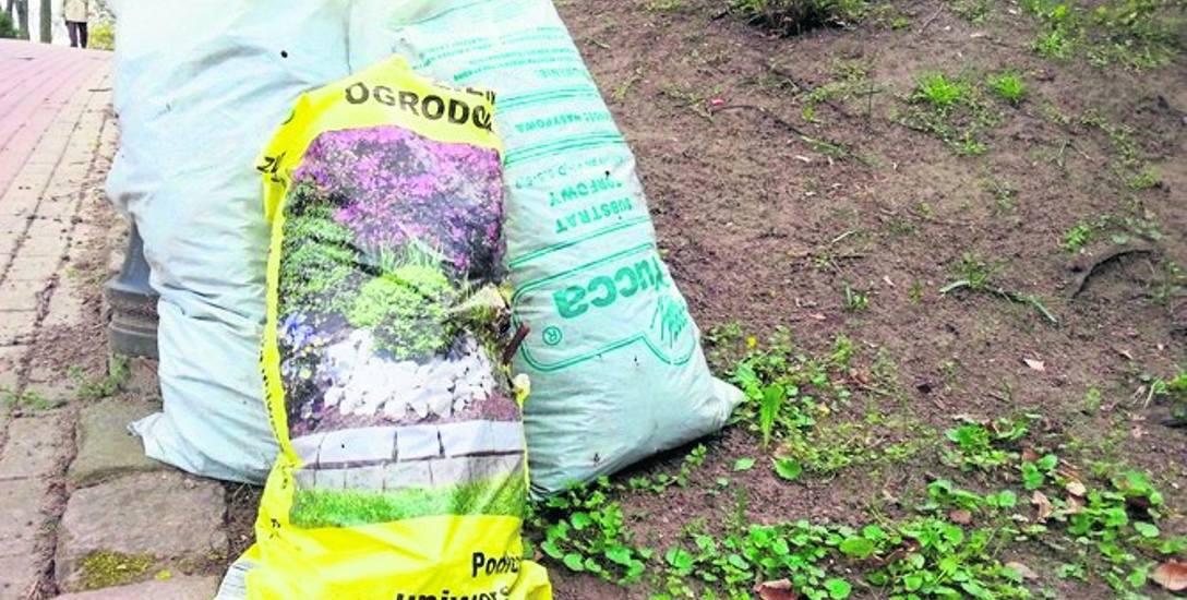 Odpadów zielonych z działek nie można palić w ogniskach.