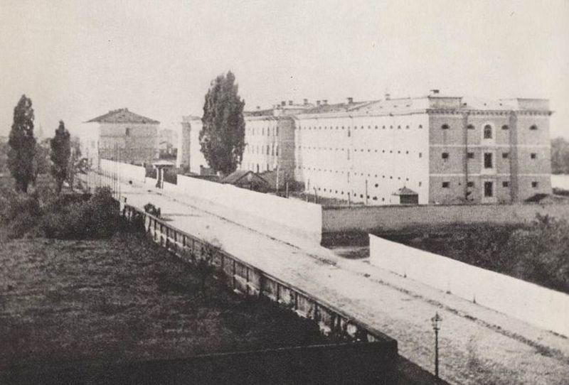 Pawiak, widok od ul. Dzielnej
