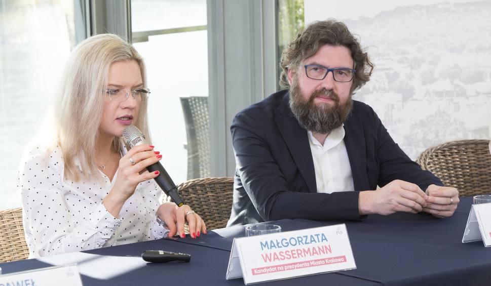 Film do artykułu: Wybory samorządowe 2018. Małgorzata Wassermann zapowiada wiceprezydenta od smogu, a Konrad Berkowicz rzecznika osób niepełnosprawnych