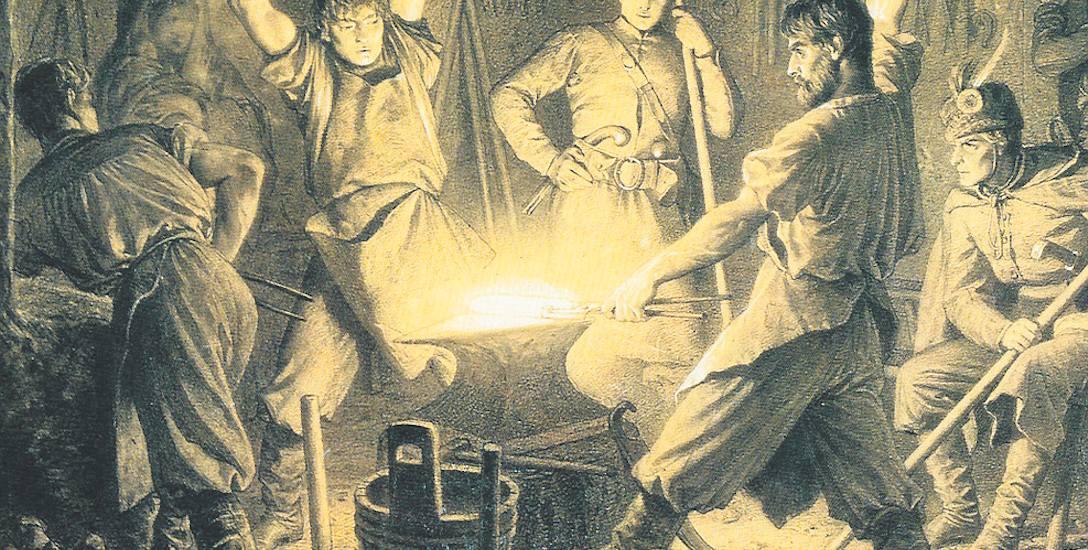 Powstanie styczniowe miało charakter partyzancki, chociaż planowano, że będzie regularną wojną