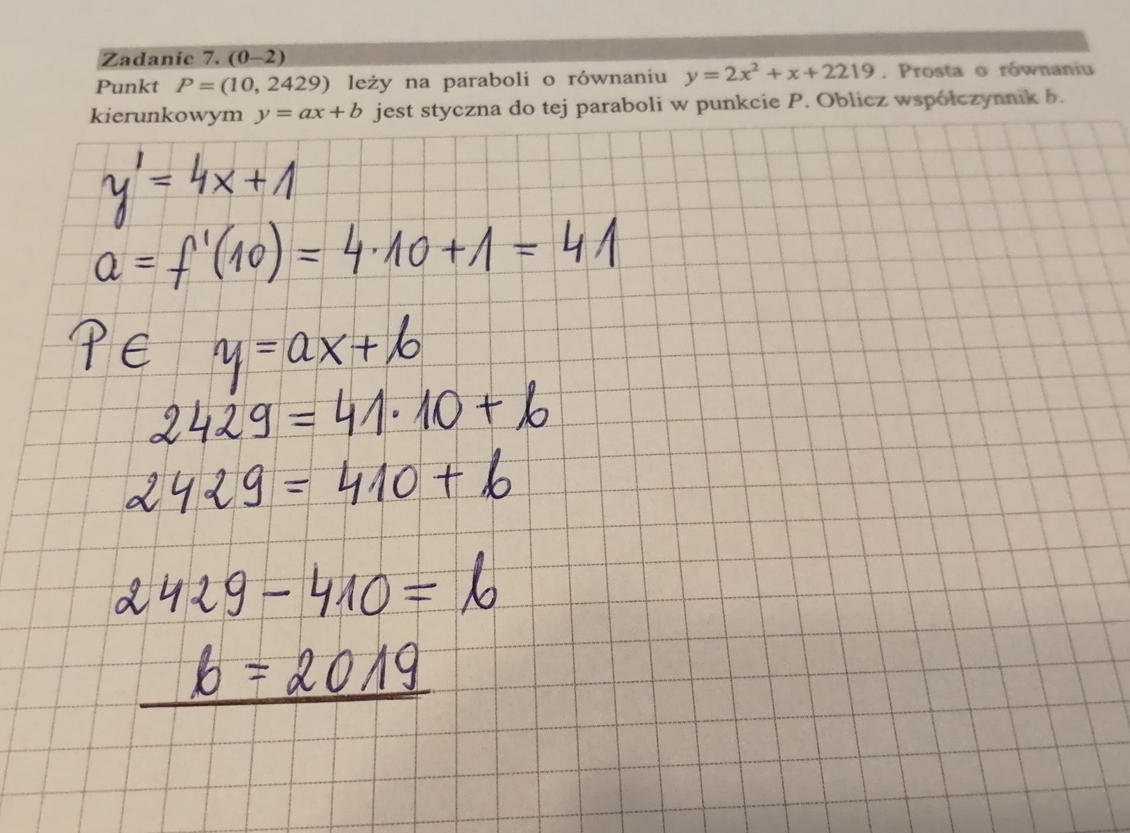 matura 2021 matematyka klucz odpowiedzi