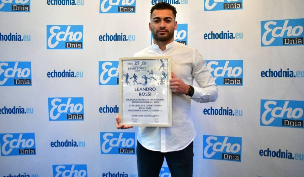 Film do artykułu: 27 Plebiscyt Sportowy Echa Dnia. Leandro Rossi zadowolony z wygranej (WIDEO)