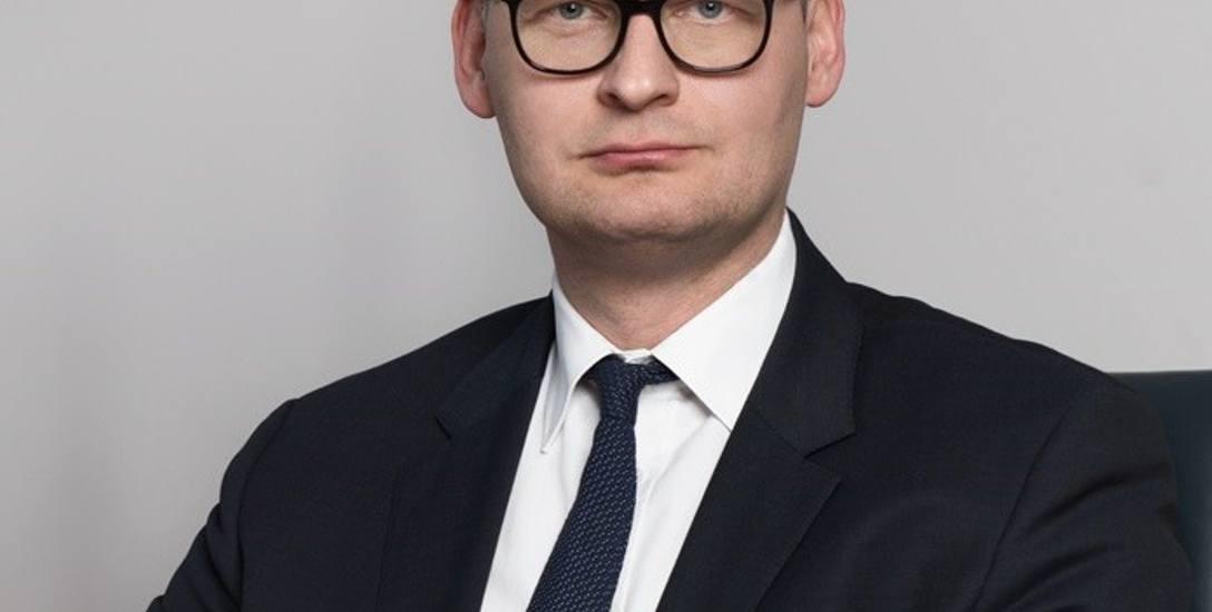 Prezes zarządu Elekrociepłowni Zielona Góra Krzysztof Kwiecień