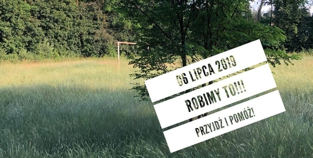 W sobotę wielkie sprzątanie boiska w Obrzycach. Okolica boiska też potrzebuje sprzątania...