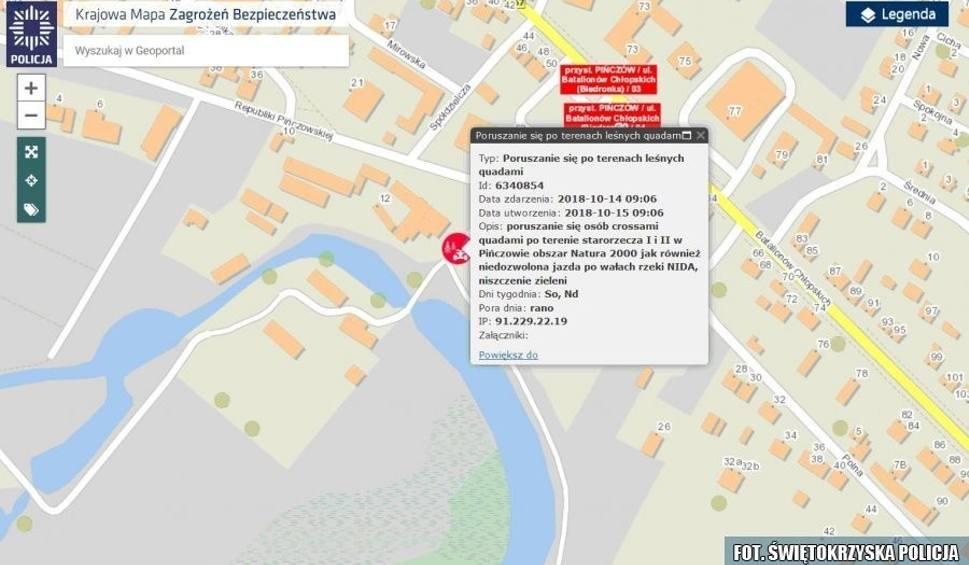 Film do artykułu: Sygnał od mieszkańców Pińczowa i skuteczna interwencja policjantów