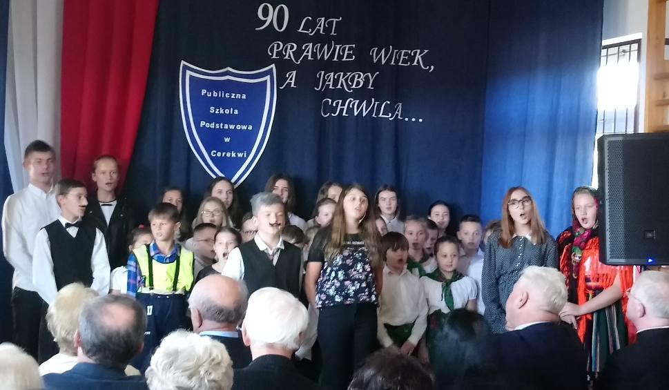 Film do artykułu: Gmina Zakrzew. Szkoła w Cerekwi świętowała 90 urodziny