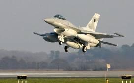 Chwila grozy przez alarm i samoloty F-16