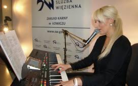 Ewa Smerecka wystąpiła dla skazanych z Łowicza