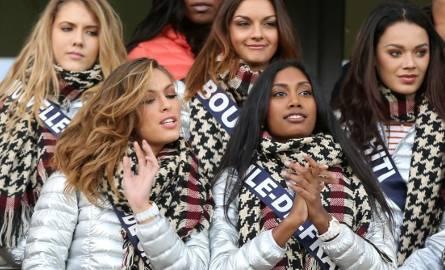 Kandydatki do tytułu Miss France na meczu PSG. Młode piękności rozproszyły paryżan?