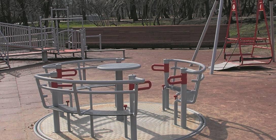 Place zabaw w Stargardzie gotowe na wiosnę. O mniej sprawnych dzieciach nie zapomnieli