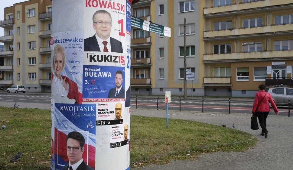 Plakaty Wyborcze W Toruniu Rozgorzała Mała Wojenka Choć