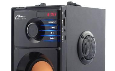 Najlepszy boombox do 100 zł? Bardzo możliwe. Media-Tech BT MT3145 [NASZ TEST, FILM] - Laboratorium, odc. 3