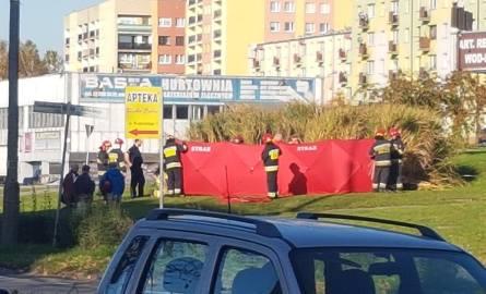 Makabryczne znalezisko w Dąbrowie Górniczej. Zwłoki kobiety były częściowo nadpalone