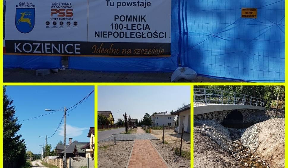 Film do artykułu: Sierpniowych inwestycji w gminie Kozienice ciąg dalszy