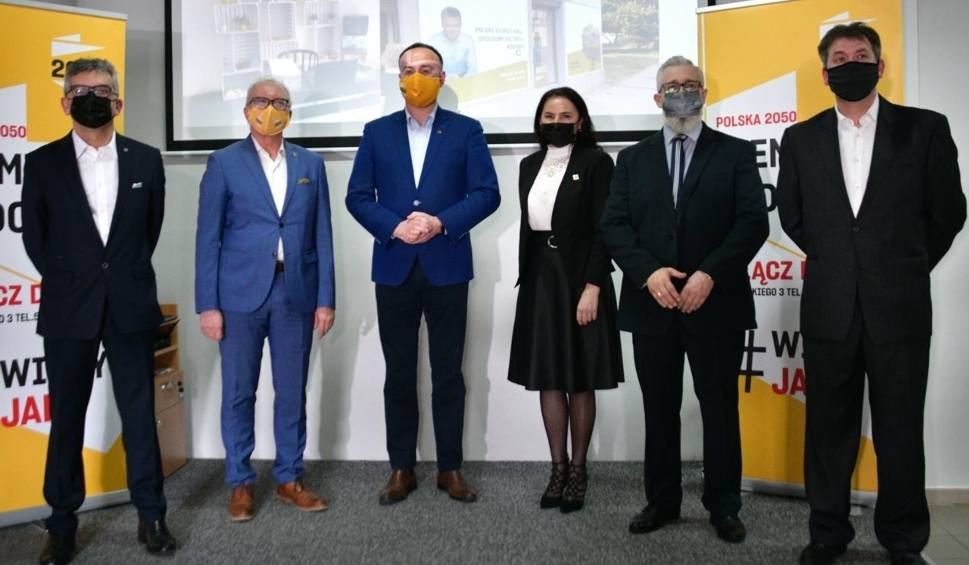 Film do artykułu: Partia Polska 2050 Szymona Hołowni tworzy struktury w regionie radomskim. Szykują się do wyborów