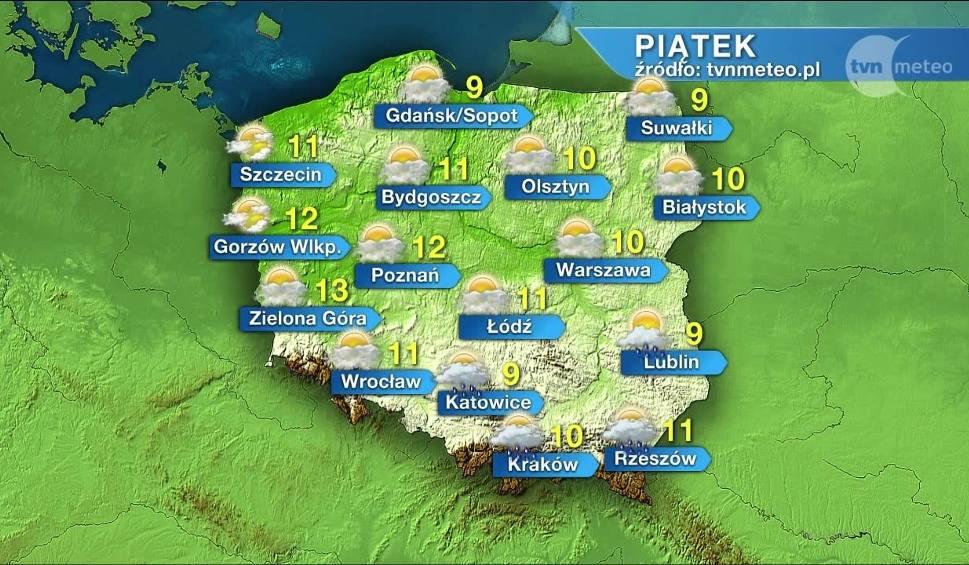 Film do artykułu: Prognoza pogody na piątek nie jest optymistyczna