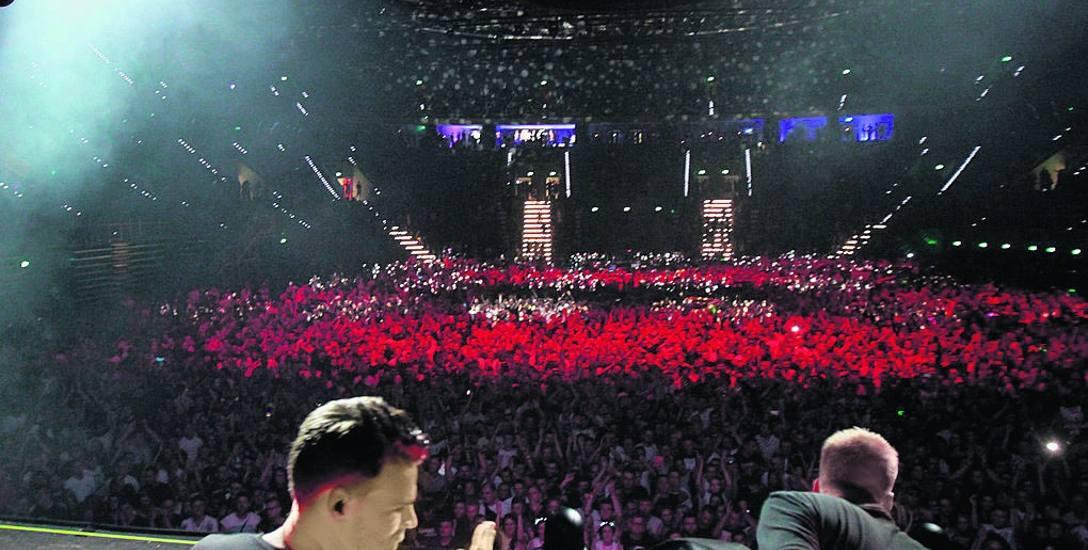 Arenę Gliwice otwarto w maju. Pierwszą imprezą był koncert Armina van Buurena
