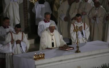 Msza święta w Krakowie-Łagiewnikach