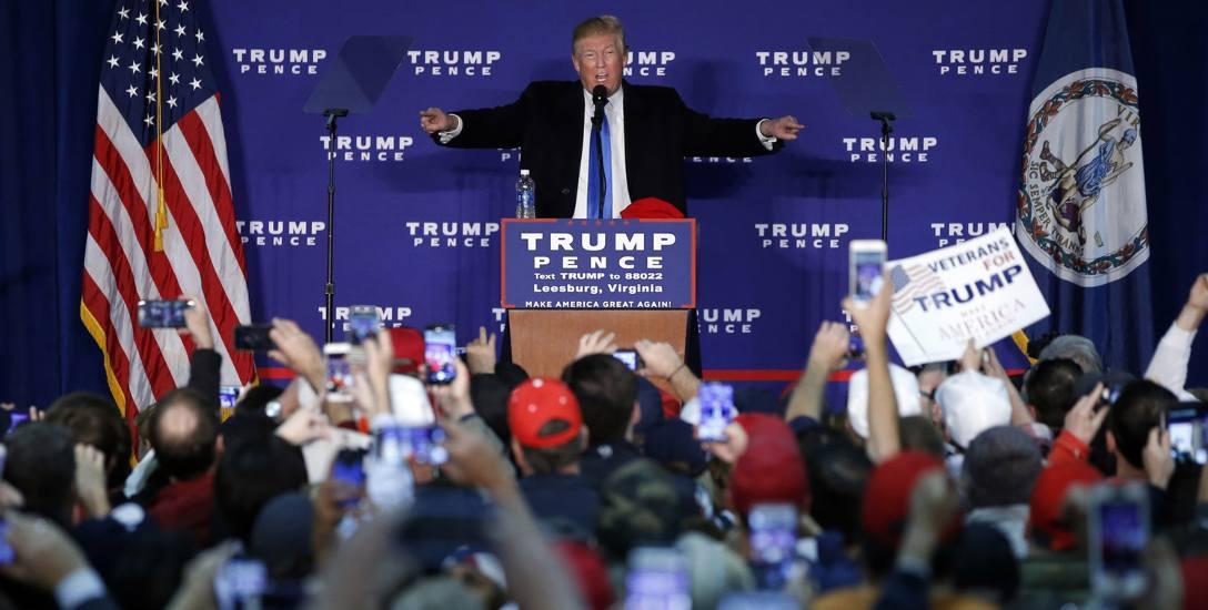 Trump niewiele różni się od trzylatka, który naciska czerwony przycisk [rozmowa]