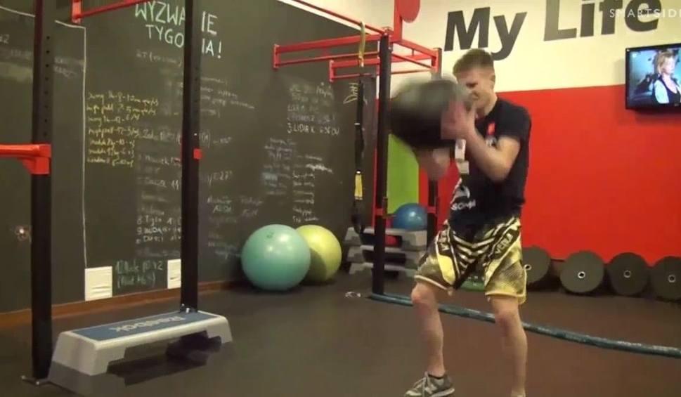 Film do artykułu: Świętokrzyski Scyzoryk: Robert Soboń z Kickboxing Kielce
