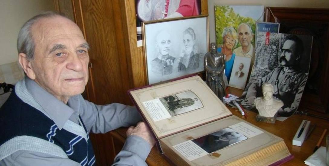 Kęty. Jego pradziadek gościł Józefa Piłsudskiego, a ojciec spacerował na Kasztance marszałka
