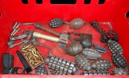 Policjanci zlikwidowali kolejny arsenał nielegalnej broni