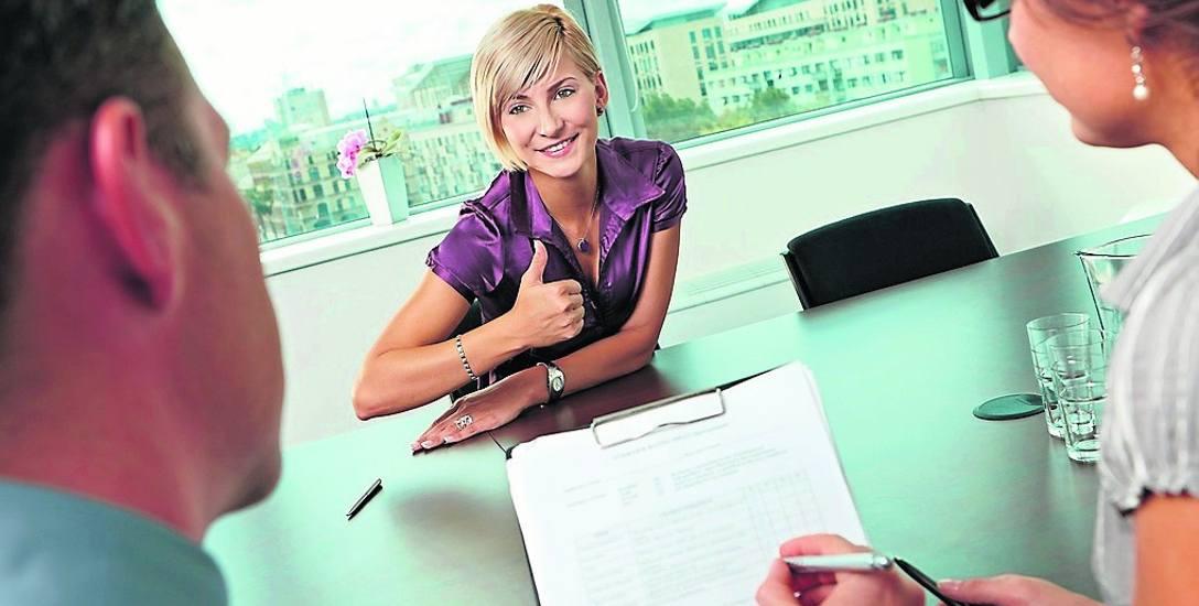 Na rozmowie kwalifikacyjnej warto mówić o sobie i podkreślać swoje mocne strony