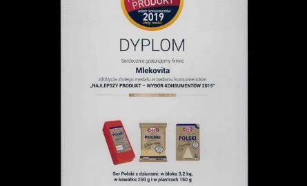 Najlepszy Produkt – Wybór Konsumentów 2019. Polmos w Białymstoku i Mlekovita z nagrodami