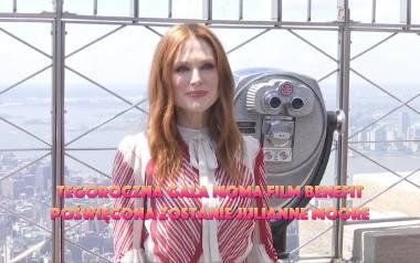 Julianne Moore bohaterką gali MoMA Film Benefit