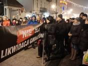Reforma edukacji. Strajk w Łodzi przeciwko likwidacji gimnazjów
