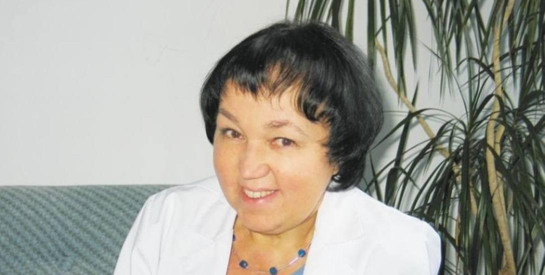 Prof. Zofia Mariak, kierownik Kliniki Okulistyki Uniwersyteckiego Szpitala Klinicznego w Białymstoku