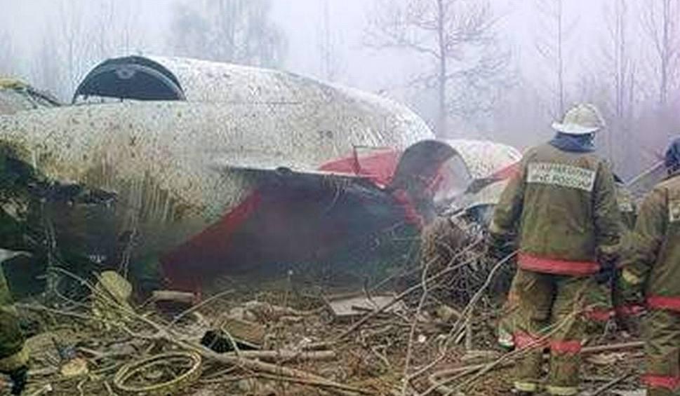 Film do artykułu: Smoleńsk: Zdjęcia z katastrofy. Drastyczne (+18)