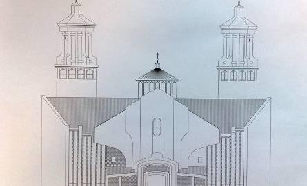 Kościół Przemienienia Pańskiego powstaje przy ul. Klepackiej (zdjęcia)