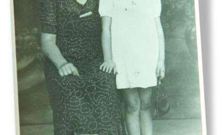 Zofia Sądel ze swoją mamą