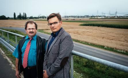 Michał Pankiewicz (z prawej) i Robert Jankowski jako członkowie stowarzyszenia Dopiewo.pl starali się wywalczyć już z PSE najlepszy przebieg trasy z