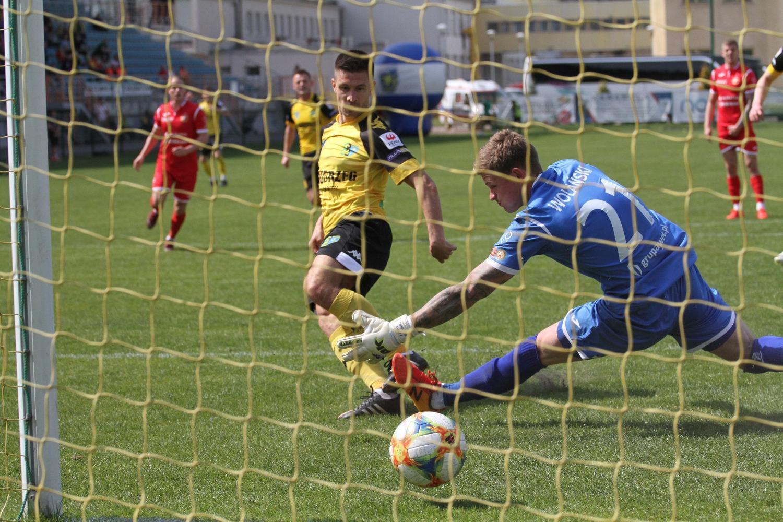 Siarka Tarnobrzeg - Widzew Łódź 1:1 (1:0)