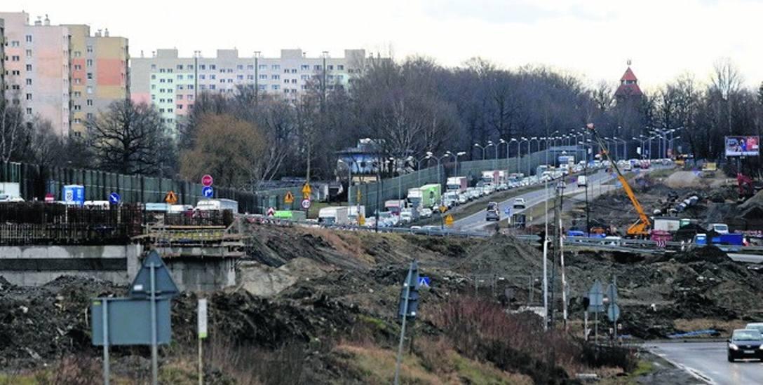 Nowa organizacja ruchu na węźle Giszowiec ma obowiązywać od dzisiaj, 24 lutego. Utrudnienia będą ogromne