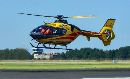 Okazało się, że motocyklista miał wypadek w Czechach i został przewieziony do szpitala