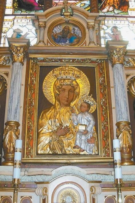 Obraz Matki Boskiej w Wierzchu.