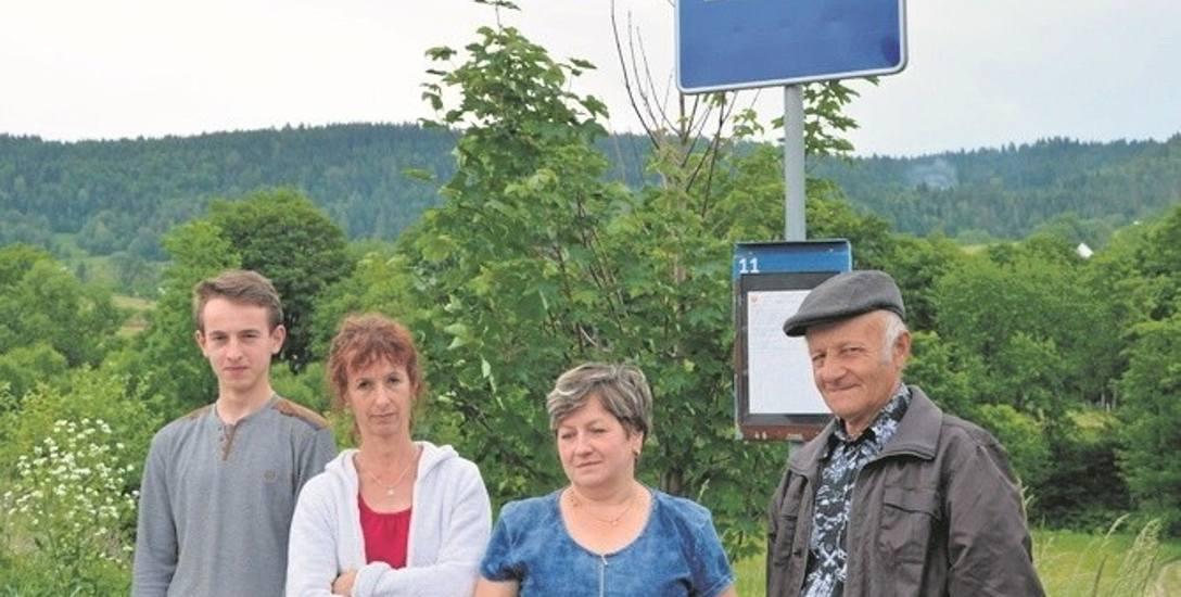 Mieszkańcy Młyńczysk (gm. Łukowica) zostali bez dojazdu do Nowego Sącza. Nawet autobus MPK do nich nie jeździ