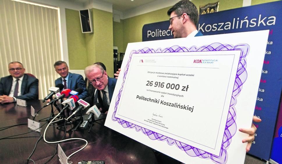 Film do artykułu: 27 milionów złotych dla Politechniki Koszalińskiej