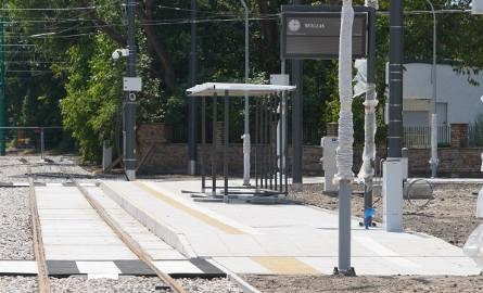 Na pętli Wilczak w poniedziałek odbyły się testowe przejazdy tramwajów. Otwarcie pętli zaplanowano we wrześniu wraz z rozpoczęciem roku szkolnego.