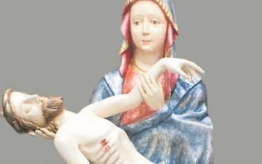 Pieta po raz trzeci opuści sanktuarium. Tak figurka prezentowała się po wielomiesięcznej renowacji, w 2013 roku.