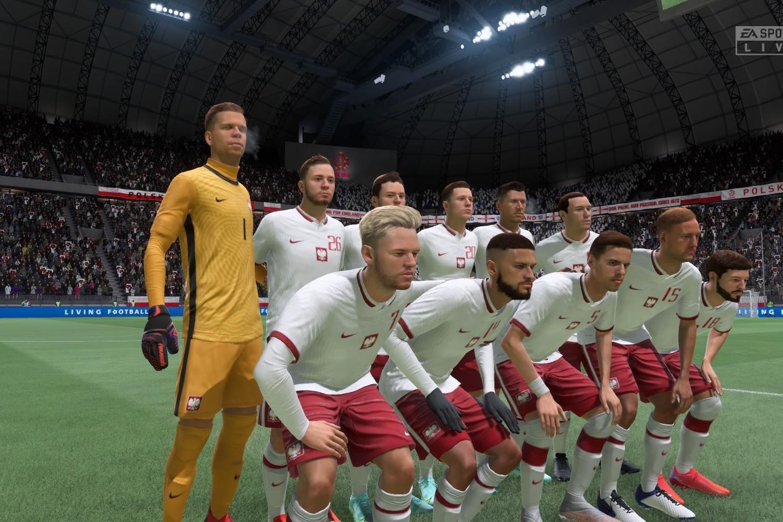 Reprezentacja Polski w FIFA 22. Zobacz, jak wyglądają Biało-Czerwoni
