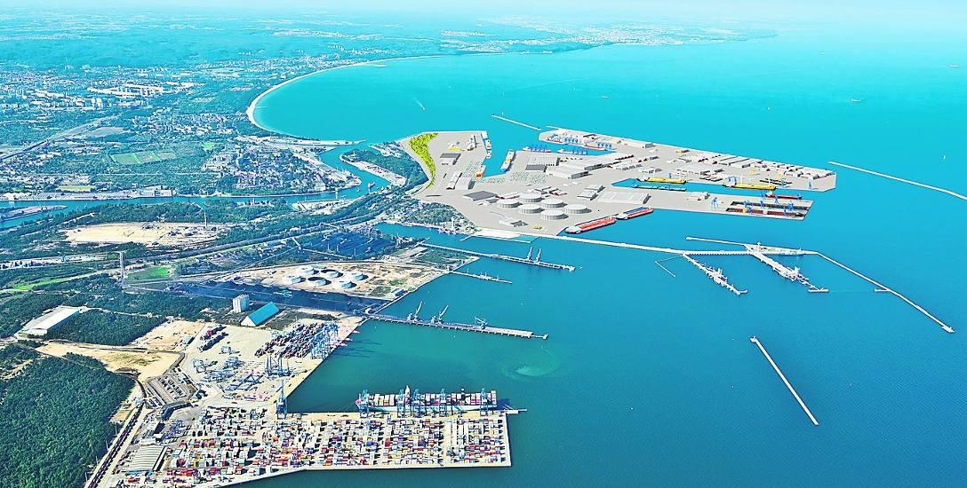 Port Gdańsk zamawia koncepcję realizacji Portu Centralnego